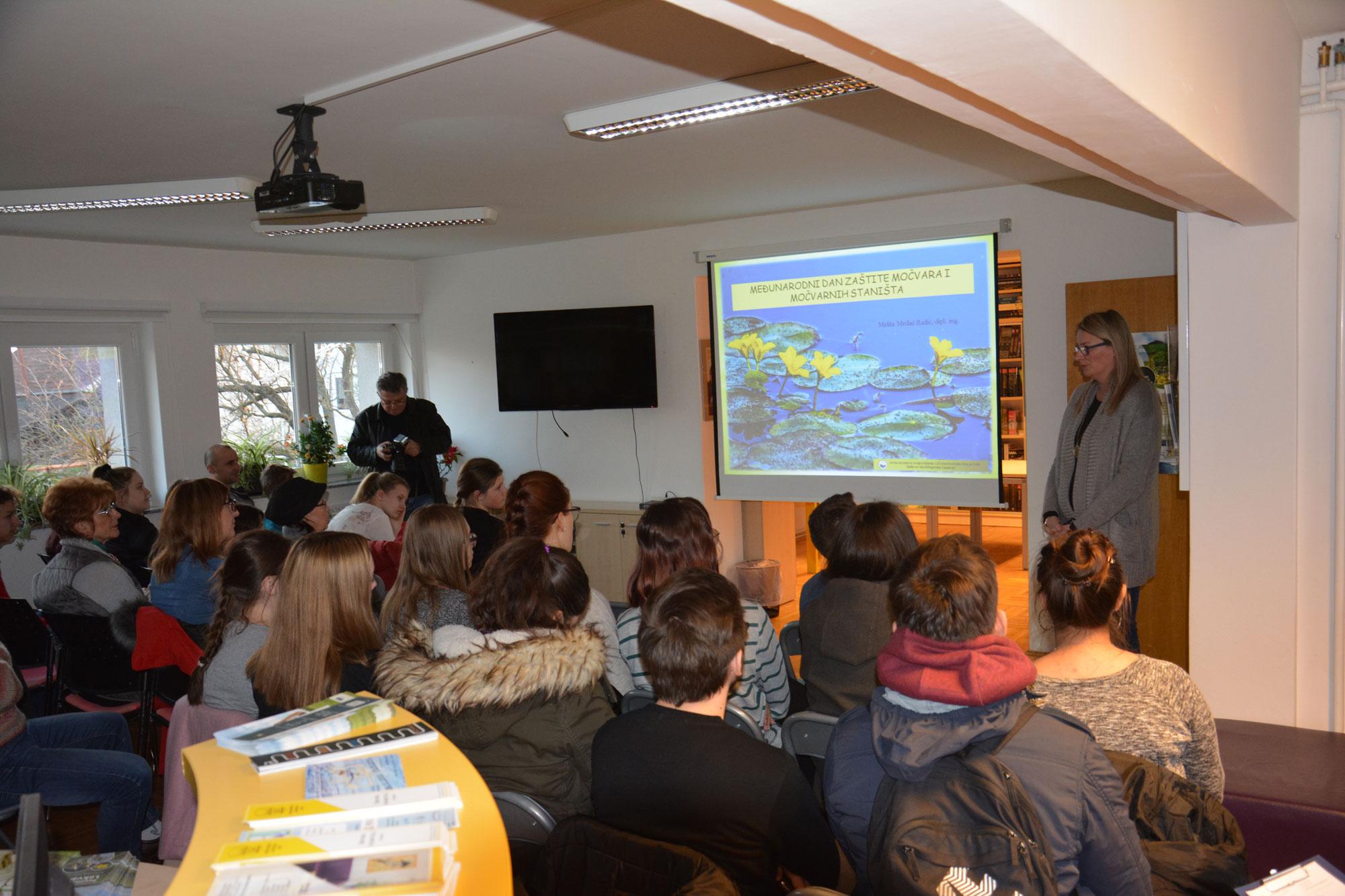 Održano predavanje u Gradskoj knjižnici Slavka Kolara Čazma