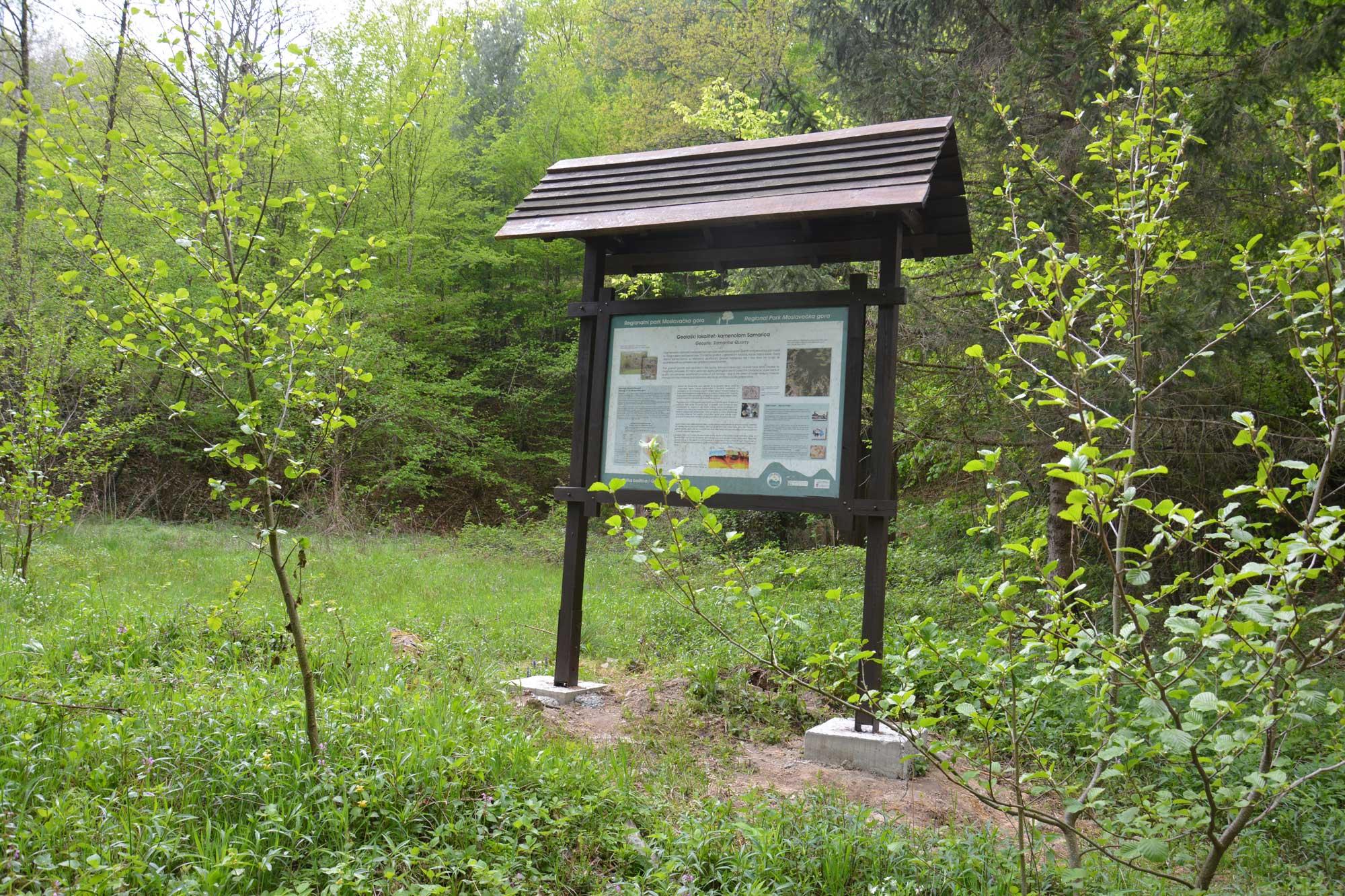 Obnova edukativnih tabli u regionalnom parku Moslavačka Gora