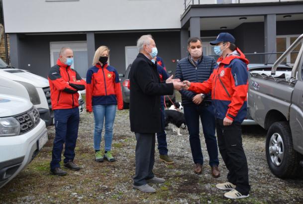 Javna ustanova darovala vozilo HGSS-u  Stanici Bjelovar